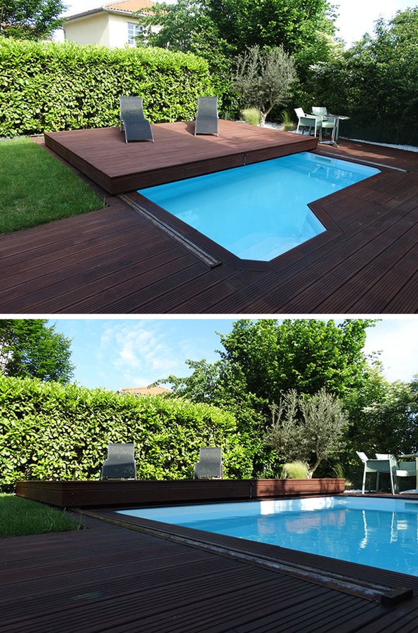 Deck Design Idea – This Raised Wood Deck Is Actually A ...
