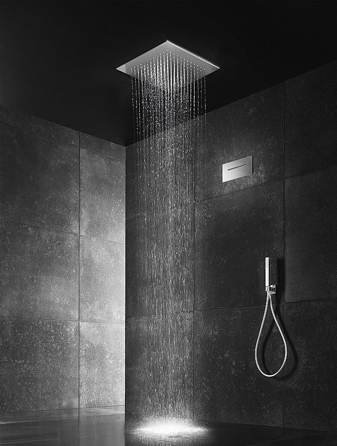 Get Fresh With Blu Bathworks Stainless Steel Rain Showers