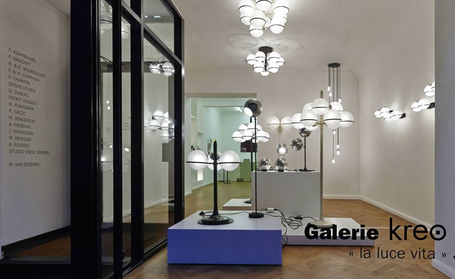 Midcentury Italian Lighting Designs Shine Through At Galerie