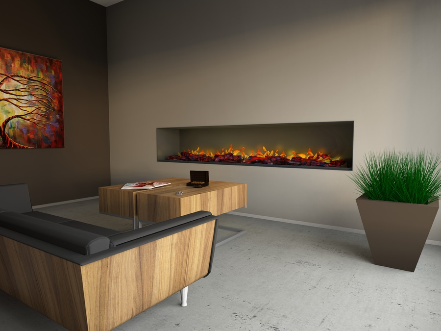 Muenkel Design Wall Fire Electronic Pro Opti Myst Electric