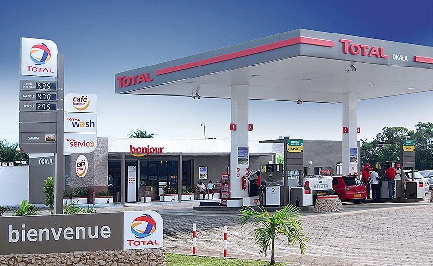 Total Petrol Stations New Concept For A Modern Durable Corporate Identity With Prepainted Aluminium Sheets Arconic Architectural Products Sas Merxheim Frank