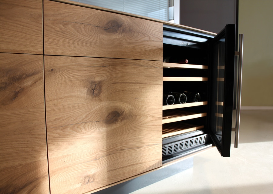 Wine Cabinet With Refrigerated Cellar