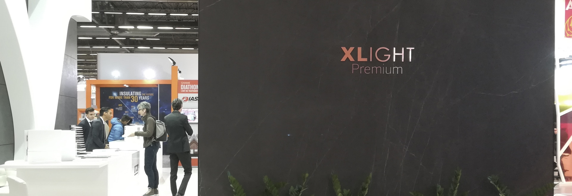 100% large format. The trend in BATIMAT