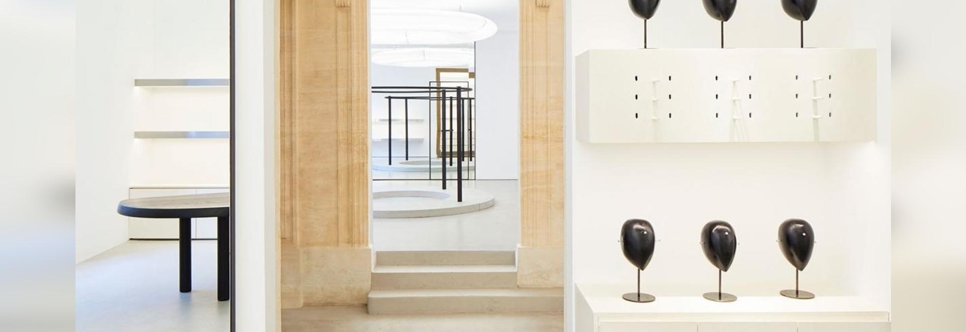Alaïa's storied hôtel particulier in Paris now boasts a spa and café