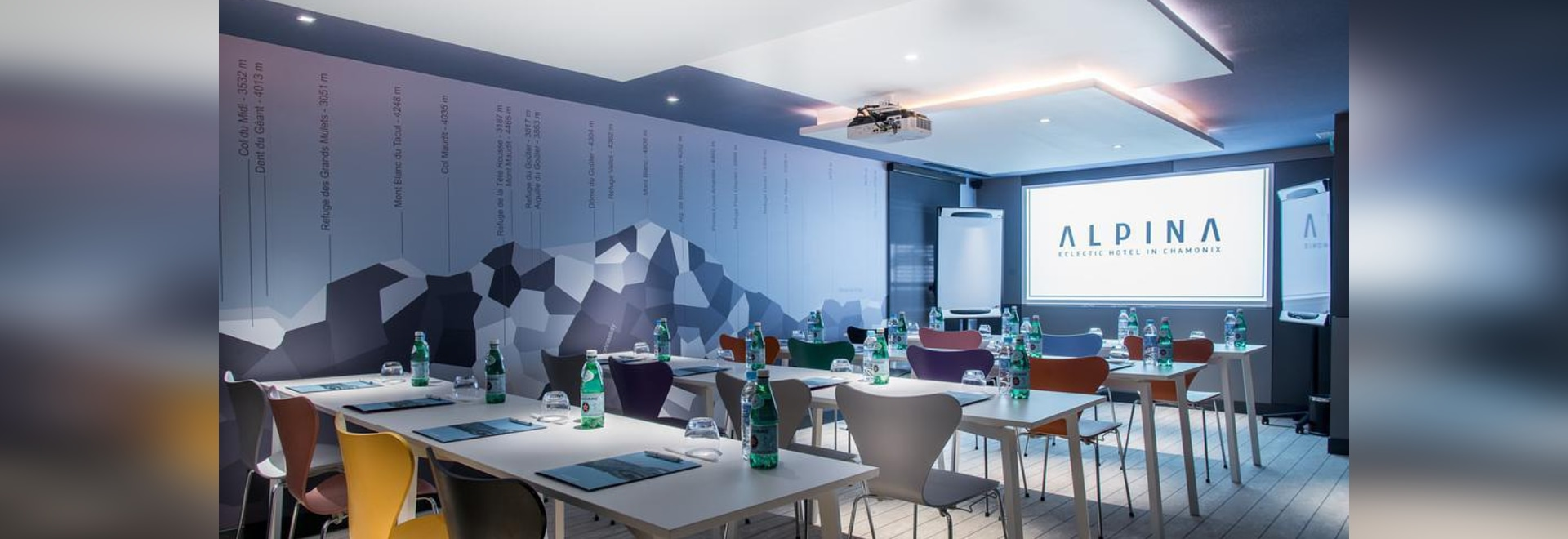 Alpina Eclectic Hotel (Chamonix-Mont-Blanc) with FAST Table.