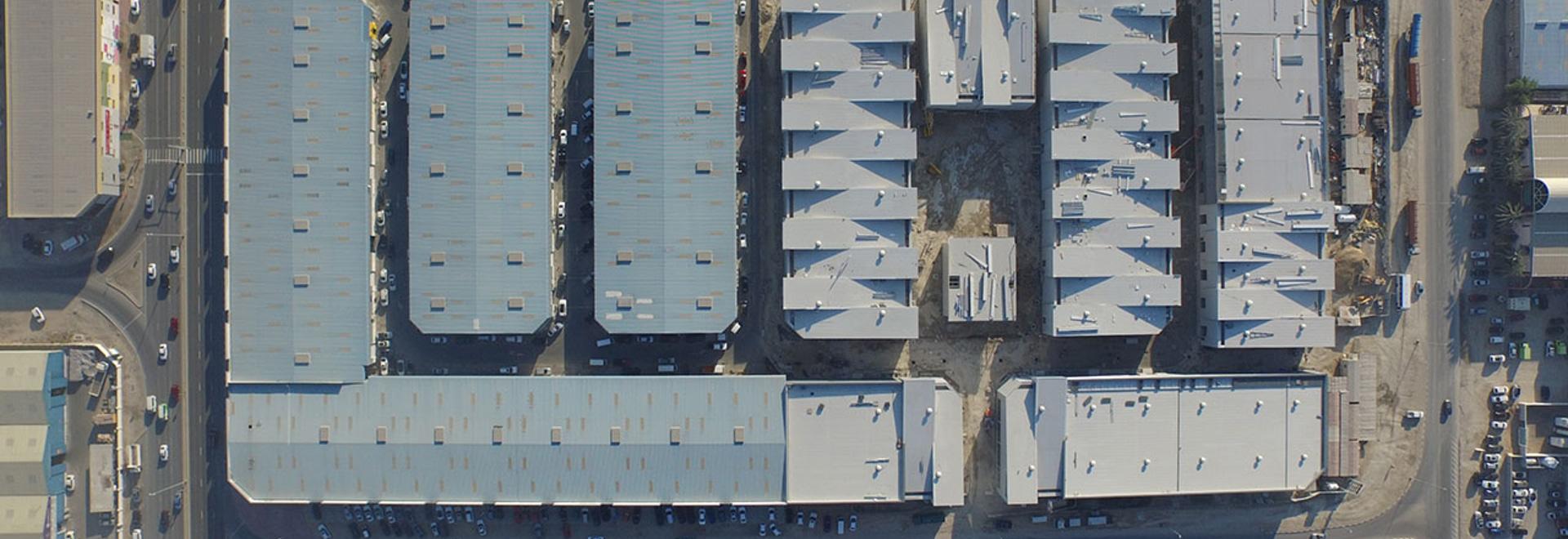 Alserkal Avenue aerial view. Photo courtesy Alserkal Avenue.