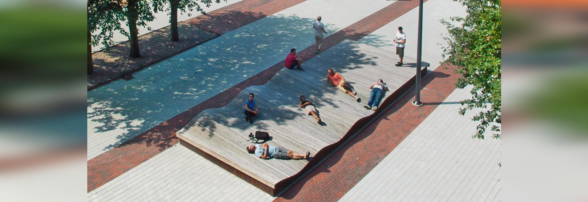 Architectural award for social square in Halmstad