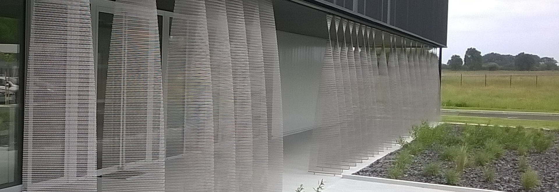 Architectural meshes for a partition in Pau (France)