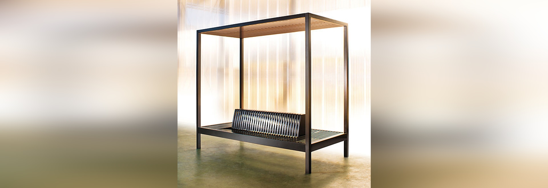 aréa presents the KYOTO bench