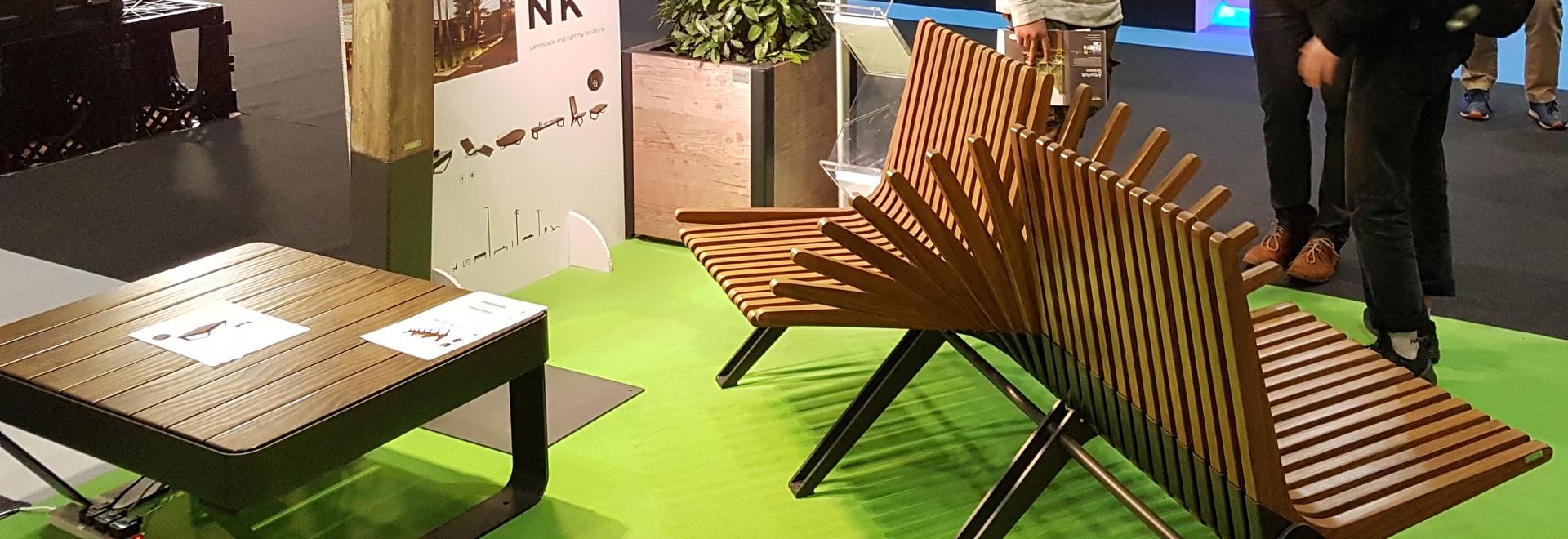 Aubrilam at the Futurebuild exhibition