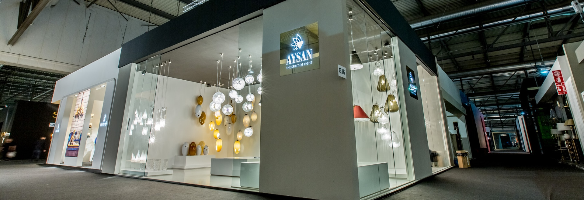 AYSAN Stand overview