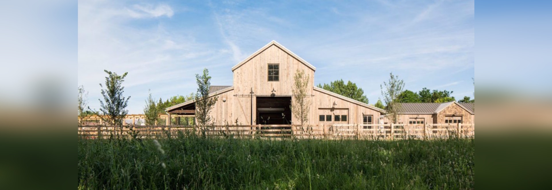 Beautiful modern barn produces food sustainably in Utah