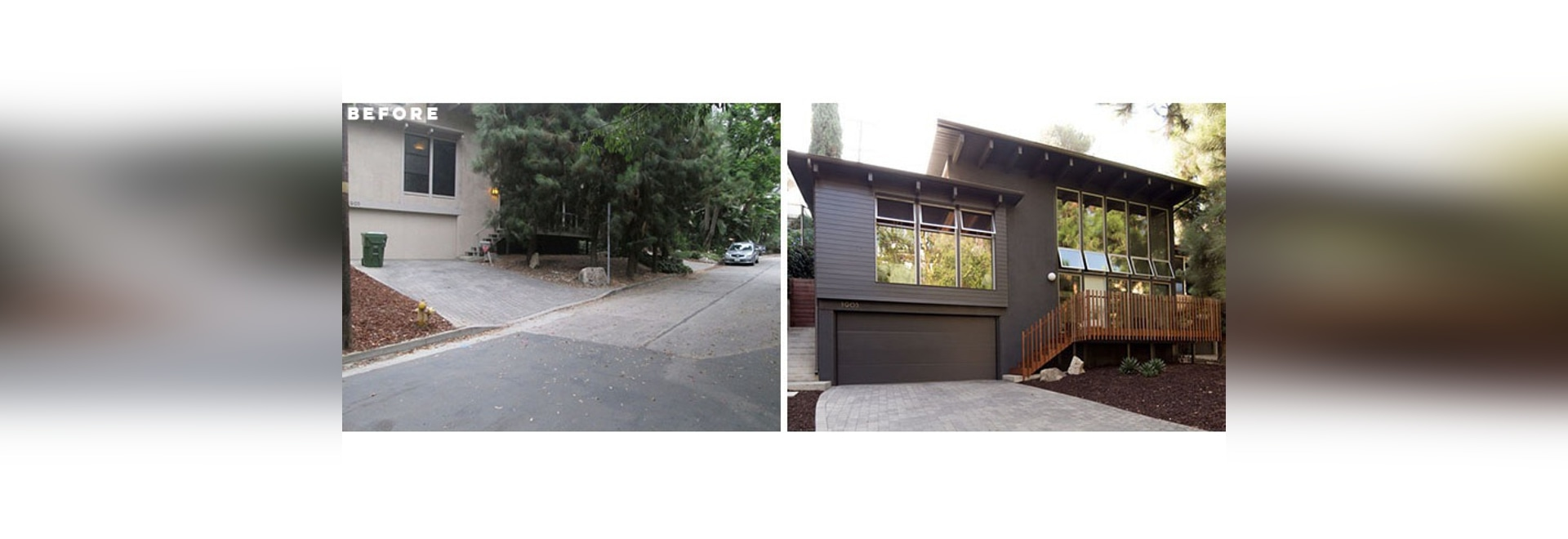 Image of: Before After This Mid Century Modern House In Los Angeles Received A Complete Renovation Los Angeles Ca Usa