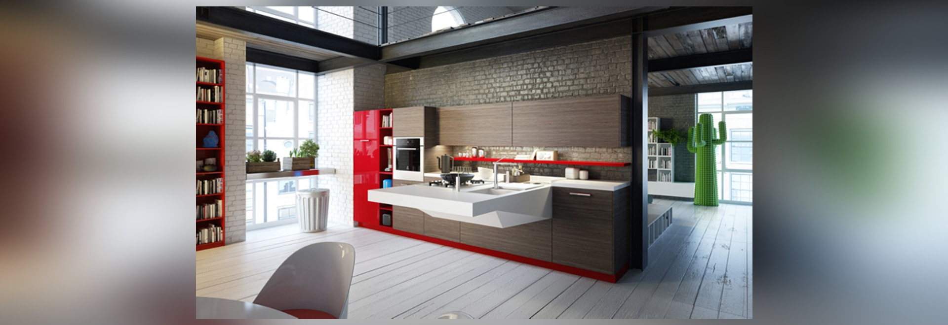 BOARD KITCHEN CANTILEVER