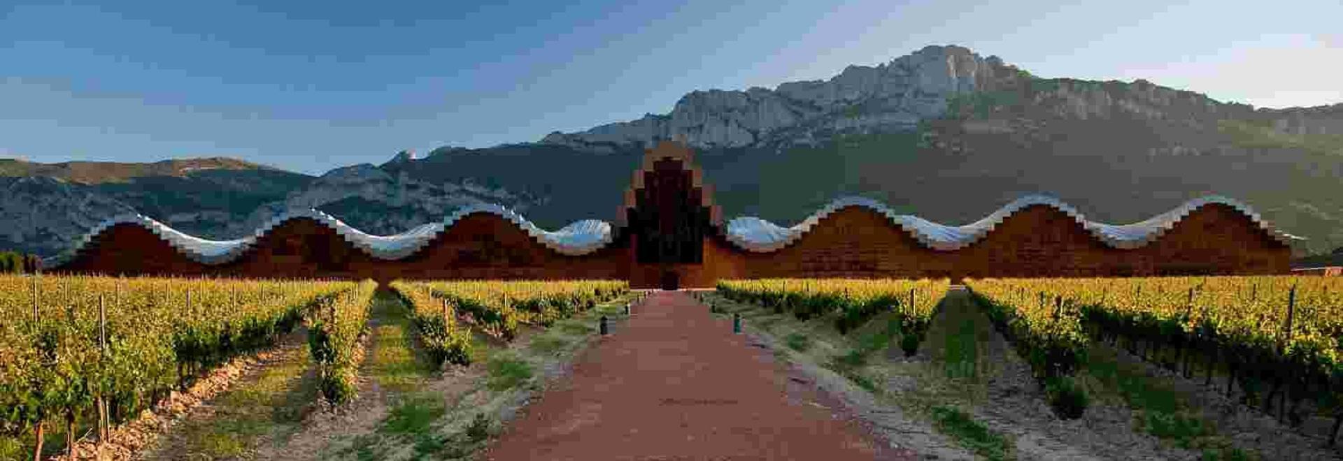 Bodega Ysios – Rioja. Courtesy of architect Santiago Calatrava