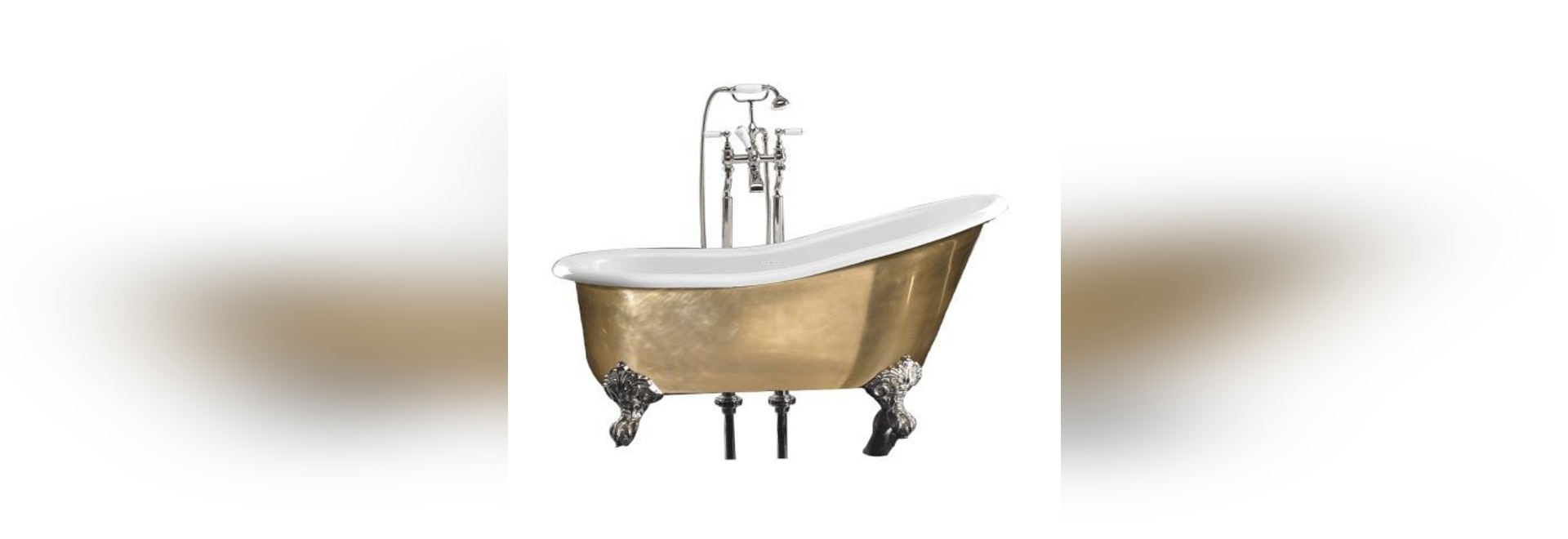 BROCKLEY bathtub with legs by Windsor Bathroom Company