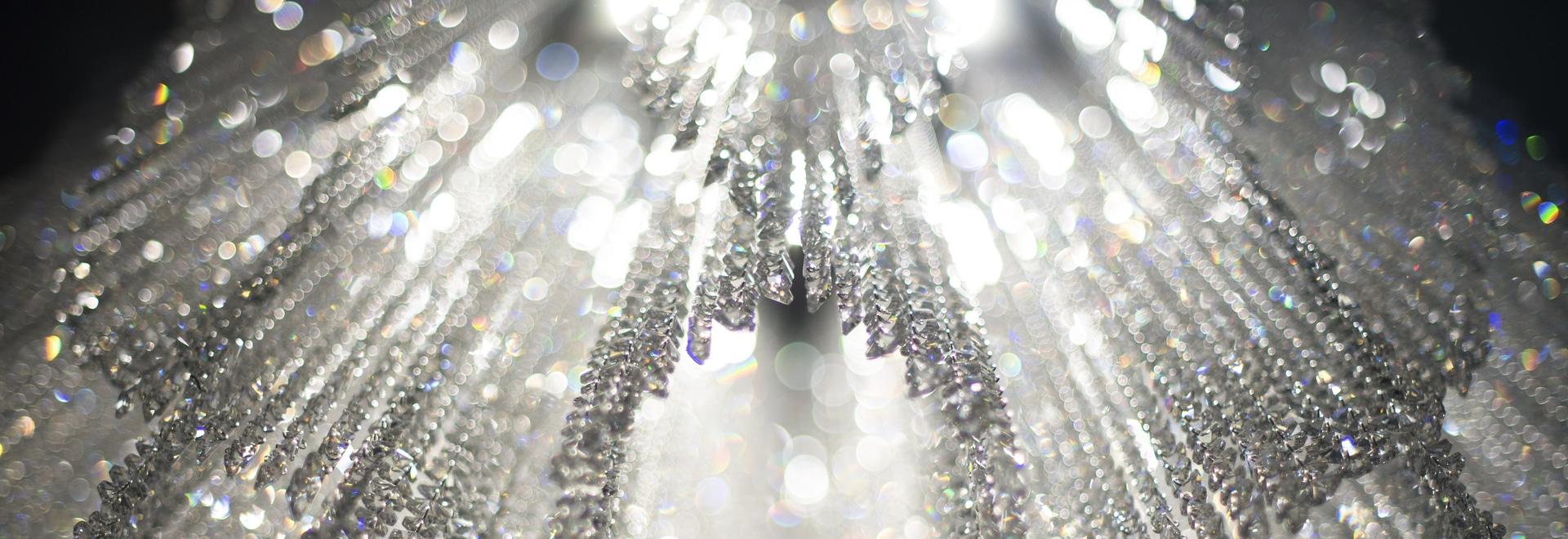 Burj crystal chandelier