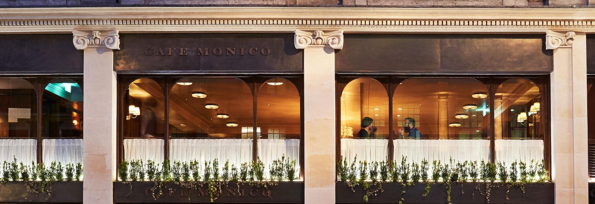 Café Monico, London, UK