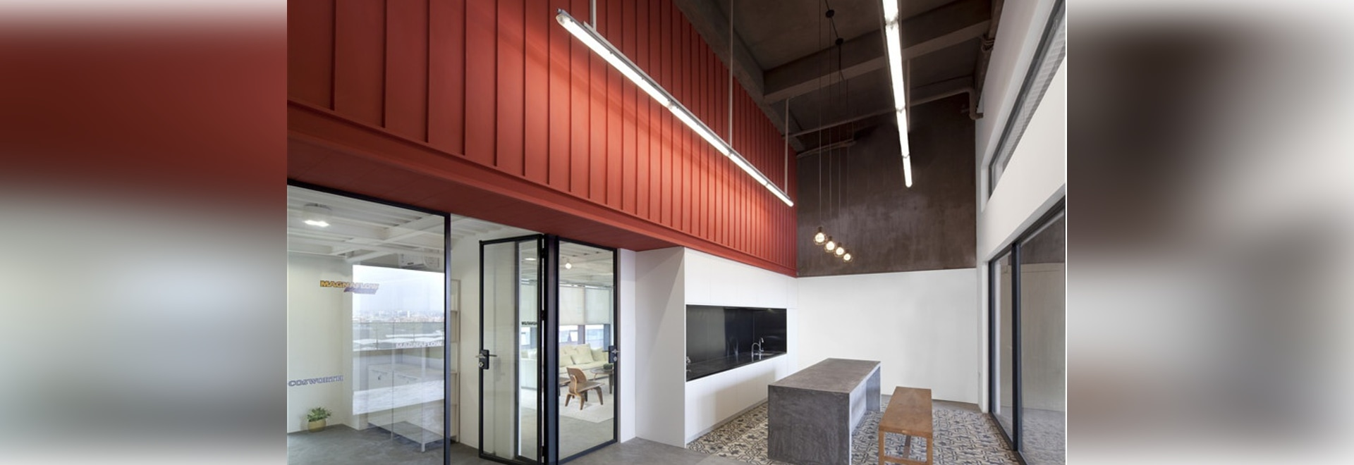 C.DD contrasts textiles and materials for office in foshan, china