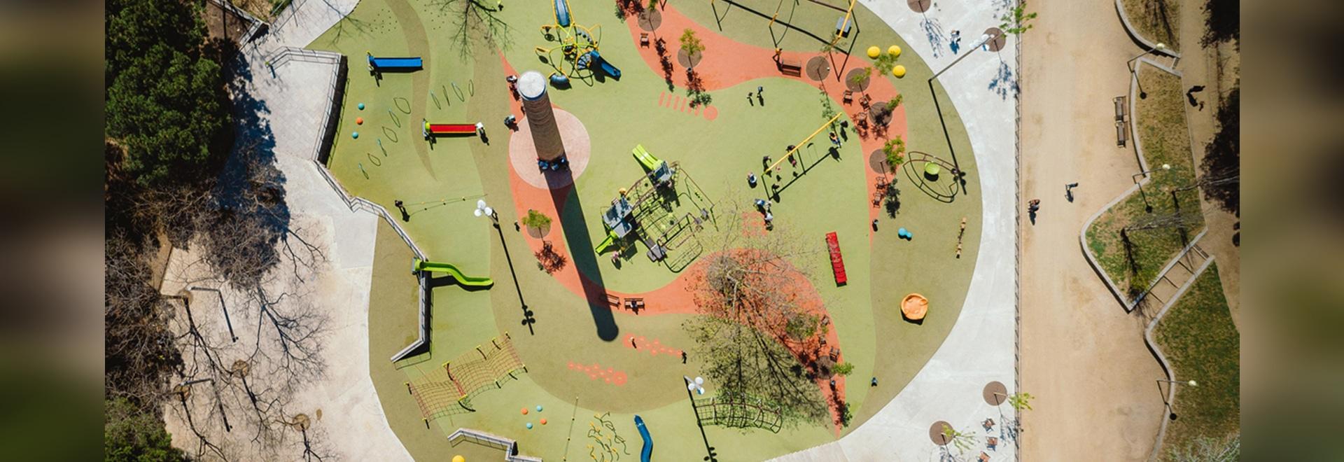 Children's Park of Les Planes in Hospitalet