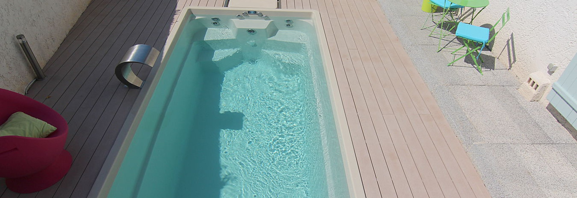 City Pool Small Spa For Garden 10 Square Meter