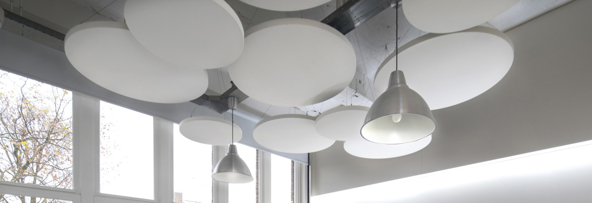 Class Acoustic Circular  Ceiling Rafts