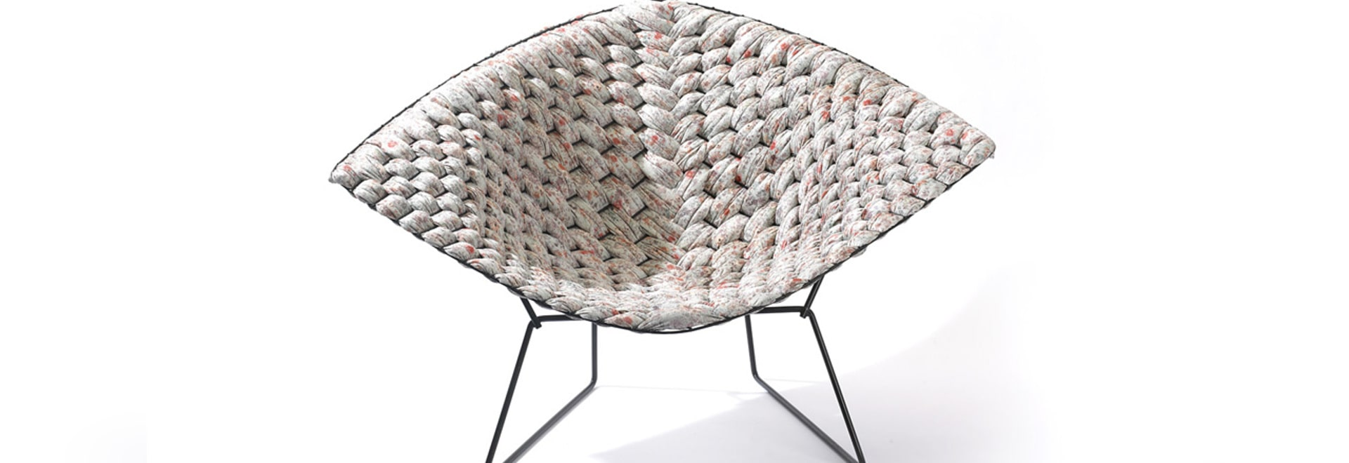 CLÉMENT BRAZILLE PAYS HOMAGE TO BERTOIA'S ICONIC CHAIRS
