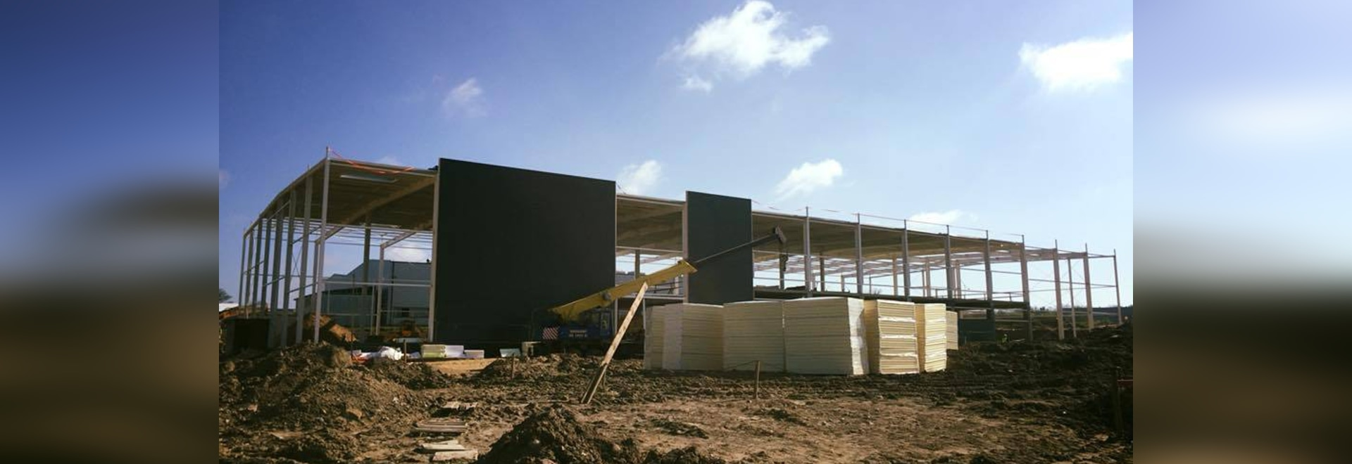CONSTRUCTION OF A NEW FACTORY
