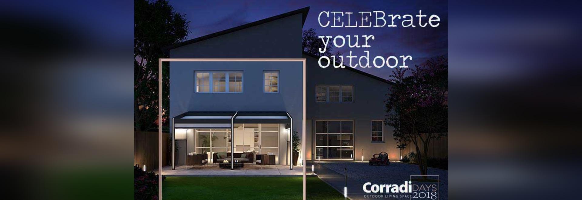 Corradi Days to celebrate Corradi's 40th birthday, starting May 26th