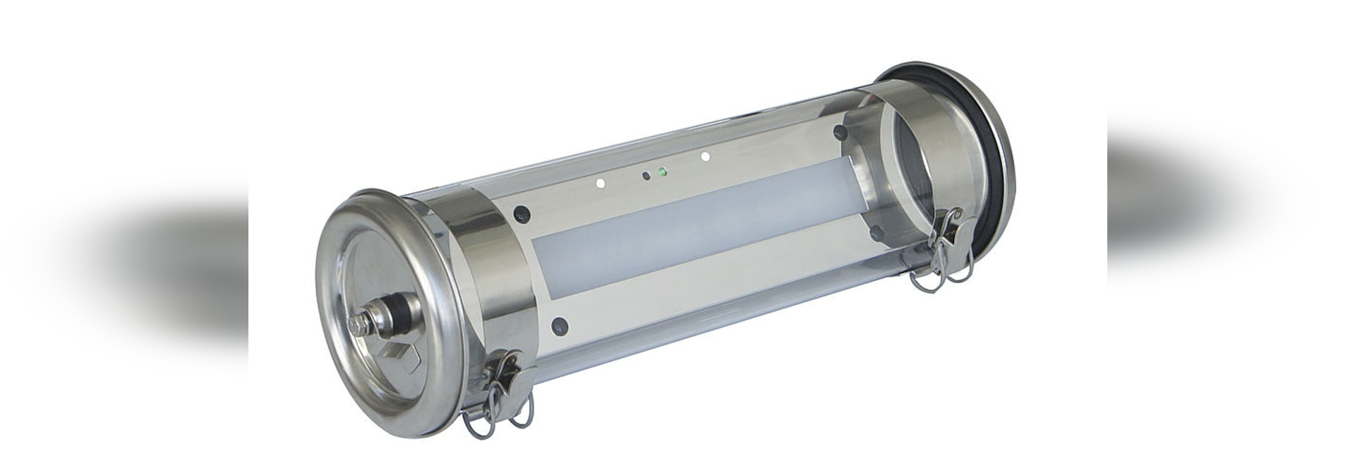 COULOMB BAEH, self-contained tubular LED luminaire for emergency lighting in residential buildings