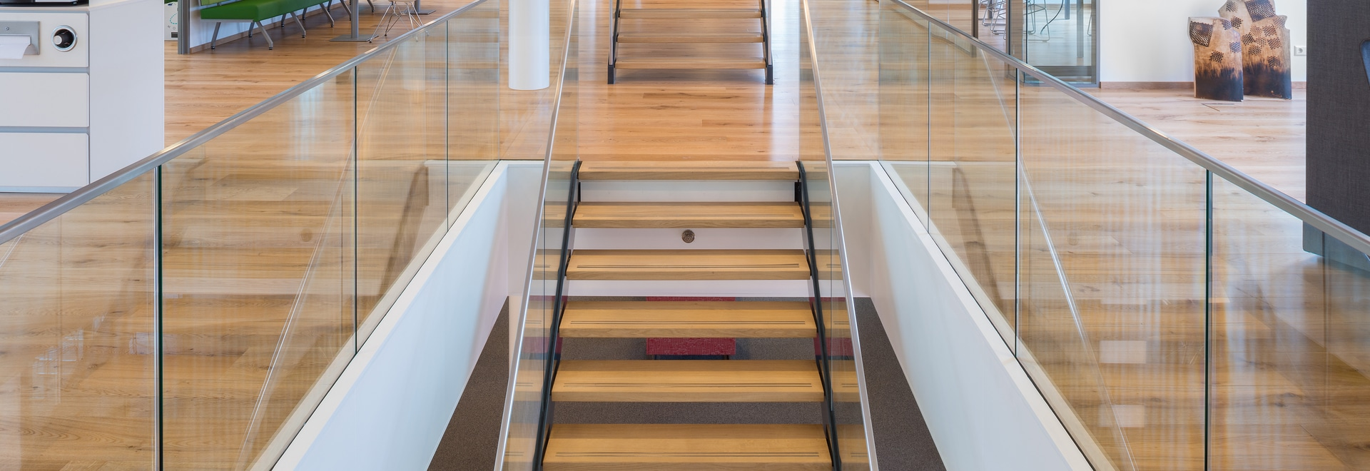 Dennebos FSC certified pre-lacquered floor