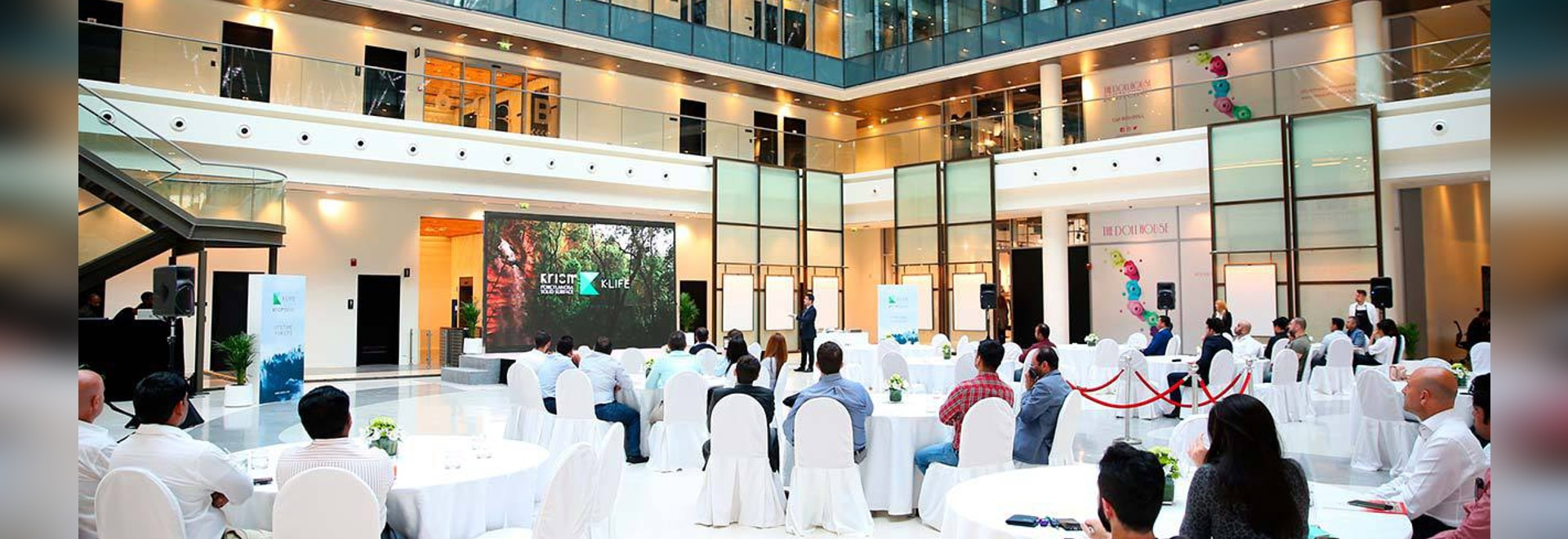 At Dubai Design District, Cloisall presents how to improve our quality of life with KRION K-LIFE and its photocatalysis