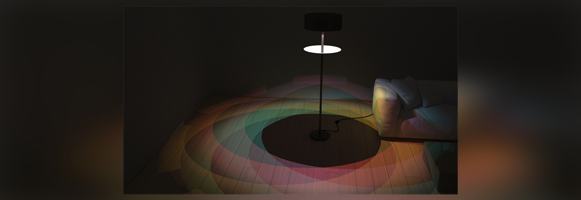 eclipse of rainbow lamp lets you see the natural phenomenon every day