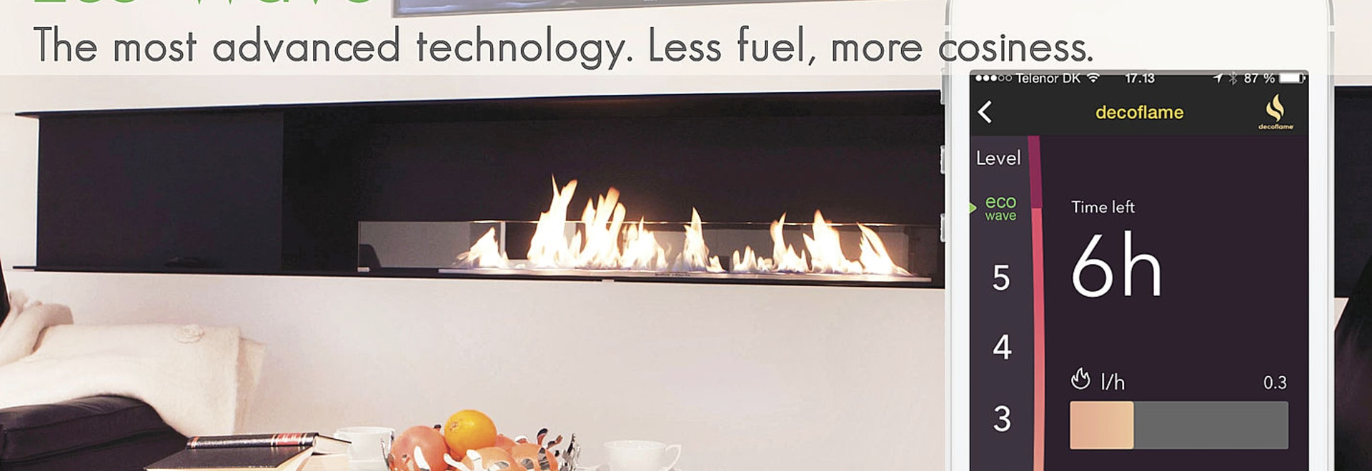 Eco-Wave™ - reduce your bio fuel consumption by up to 50%
