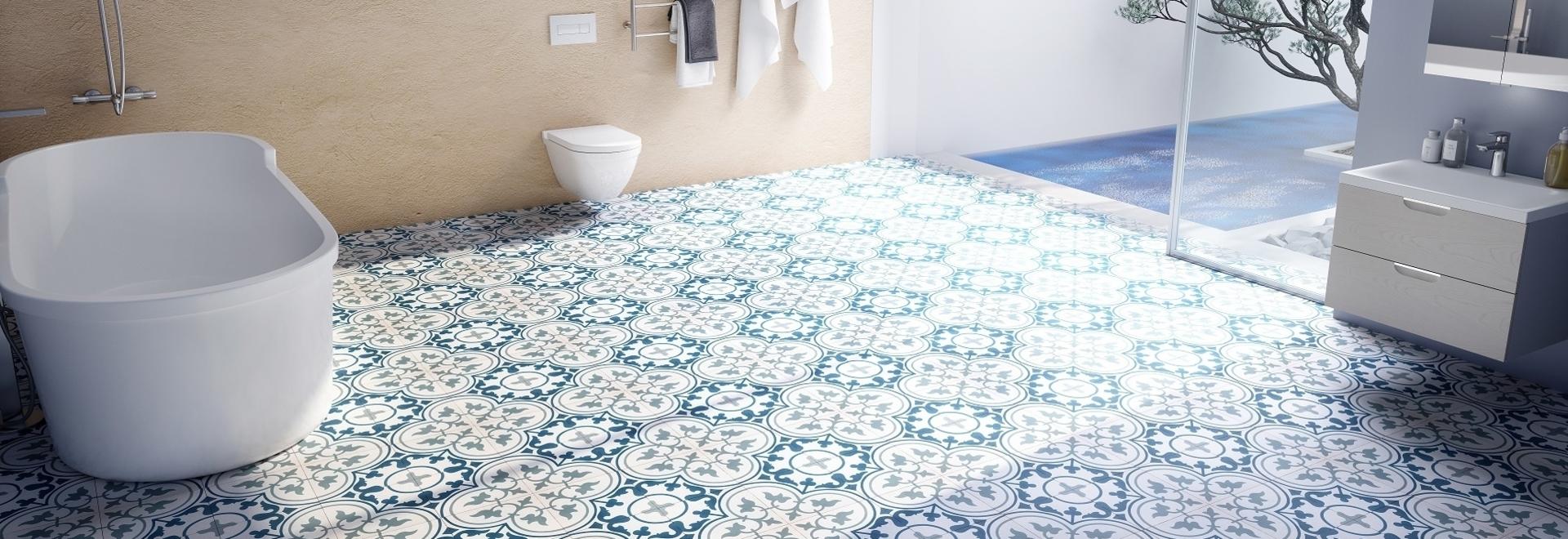 Encaustic Tiles Torrastone non-slip class C3