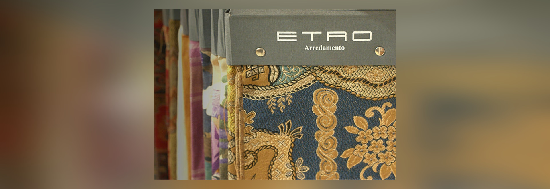 Etro in the new Berto textile collection.