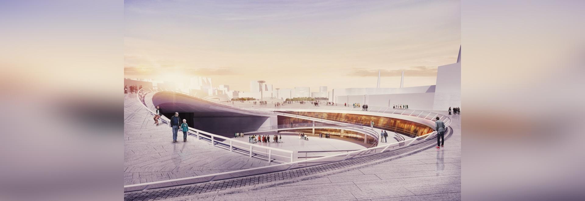 Farahmand collaborative teams' qibla plaza proposal for mashhad