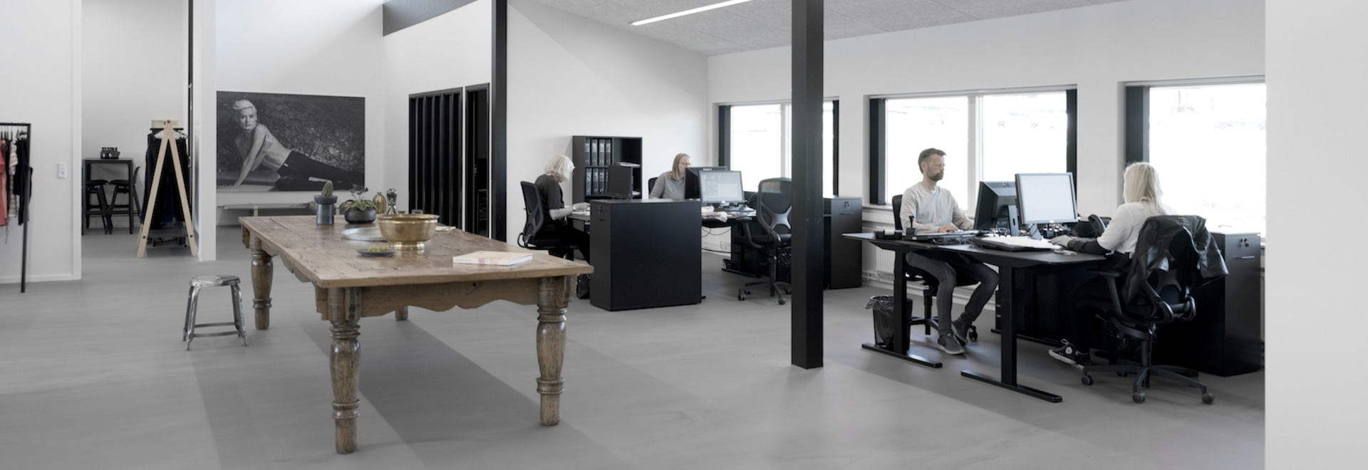 Fashion office with hygge appeal