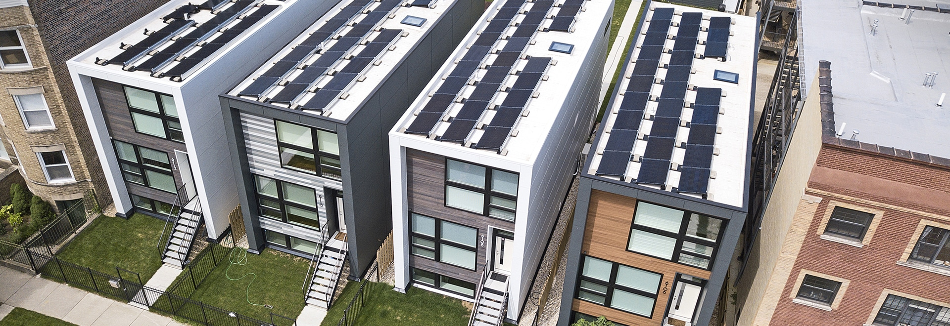 Flat roofs benefit residents