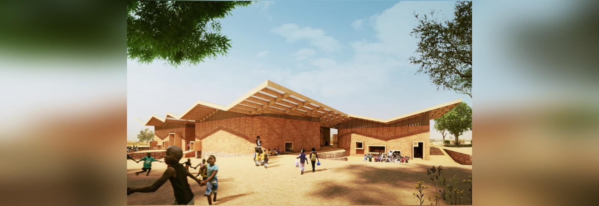francis kéré plans educational campus for the mama sarah obama foundation