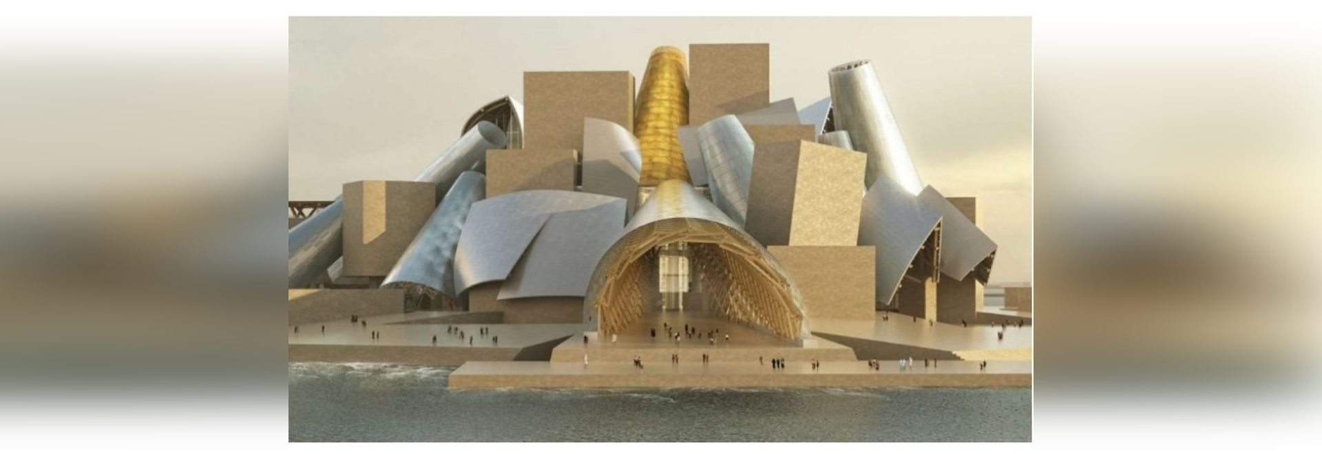 frank gehry's guggenheim museum in abu dhabi has a new opening date: 2026