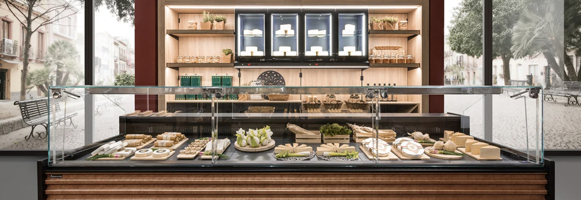 Frigomeccanica presents its new range of high-tech food showcases