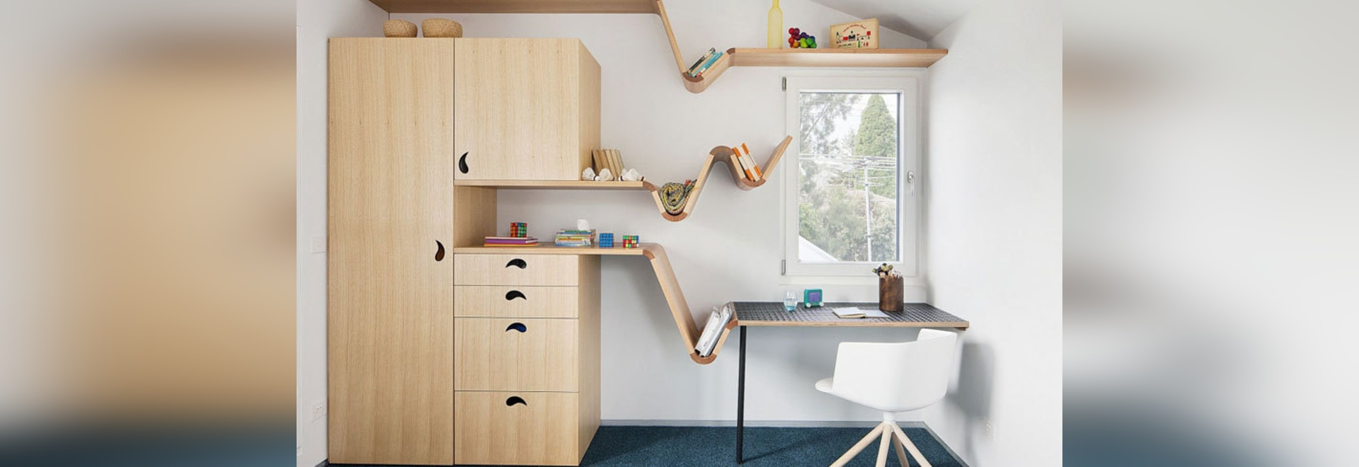 Fun And Creative Furniture Was Designed For These Kids Bedrooms