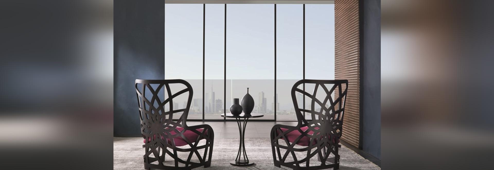 Galileo armchair