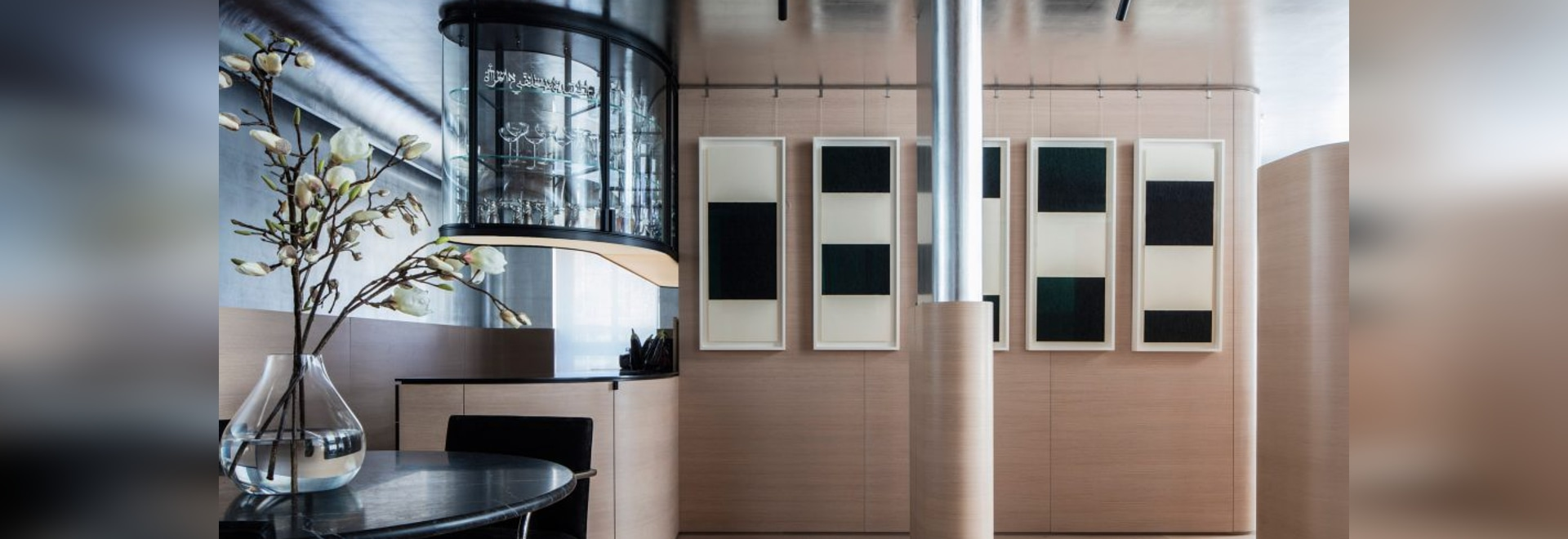 Ghiora Aharoni uses art deco references for Chelsea pied-à-terre interior