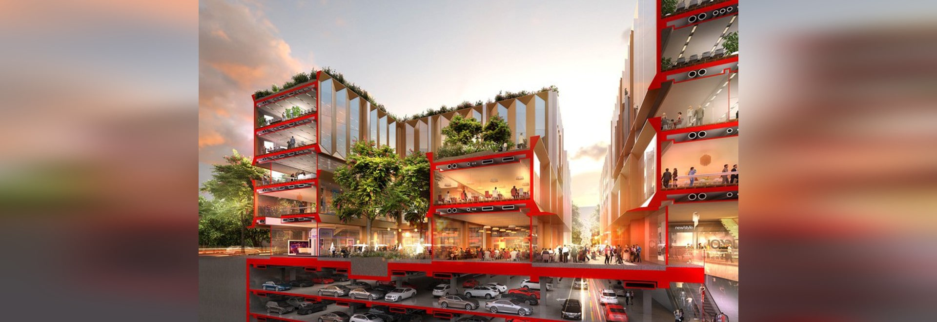 go ahead given for foster + partner's yuexiu international financial city in china