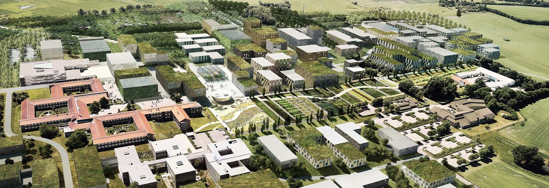 GXN and william mcdonough masterplan denmark's 'silicon valley of agriculture'