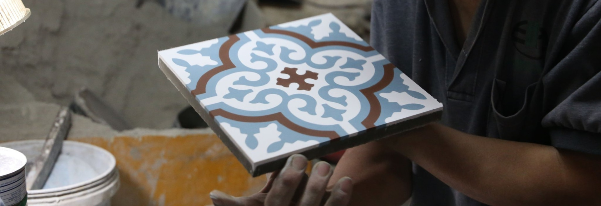 Handmade Cement Tile