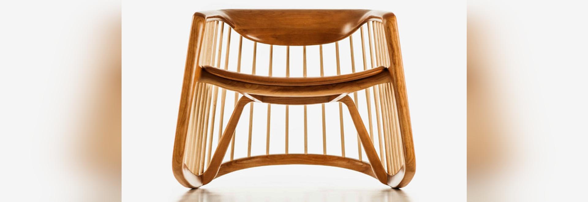 Harper Rocking Chair by Noé Duchaufour Lawrance for Bernhardt Design