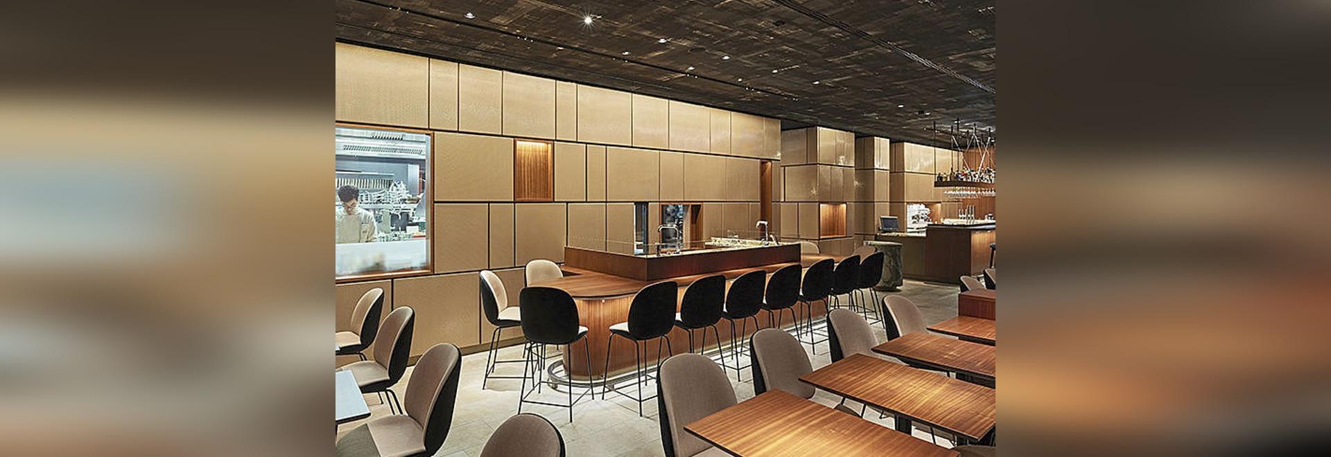 Interior Design with HAVER Architectural Mesh.